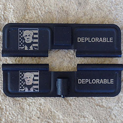 Laser Engraved Ejection Port – Trump – Deplorable
