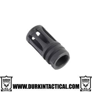 "308 Birdcage Muzzle Brake For 5/8""X24 Pitch - 5 Ports"