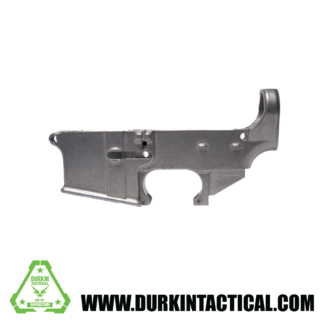 AR-15 80% Lower Receiver - Raw Aluminum