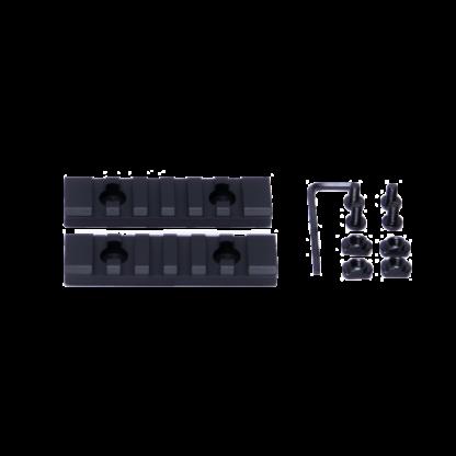MLOK 6 Slot Rail Section
