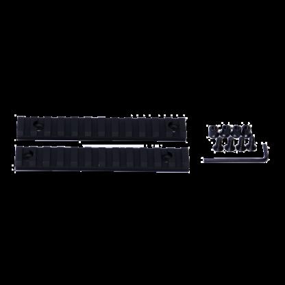 MLOK 12 Slot Aluminum Rail Section