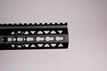 "HD Series 7"" triangle cut KEYMOD handguard"