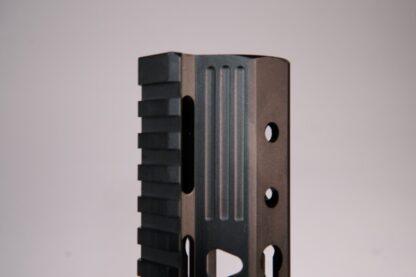 "HD Series 7"" trapazoid cut KEYMOD handguard"