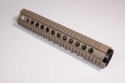 "12"" Quad Series Desert Tan Handguard"