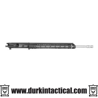 """AR-15 COMPLETE UPPER ASSEMBLY, 20"""" 416R STAINLESS STEEL, Spiral Fluted, HEAVY BARREL, .224 VALKYRIE, RIFLE LENGTH GAS SYSTEM, 1:7 TWIST W/ 15"""" Rail"""