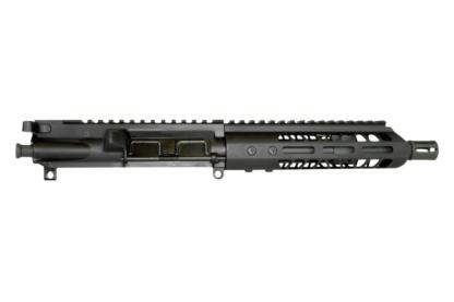 "AR-15 Complete Upper Assembly, 10.5"" 4150 Parkerized Heavy Barrel, .450 Bushmaster, 1:24 Twist w/ 10"" MLOK Rail"