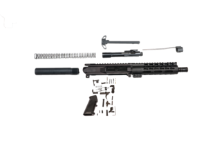 ar 15 stubby 7.5 in build kit