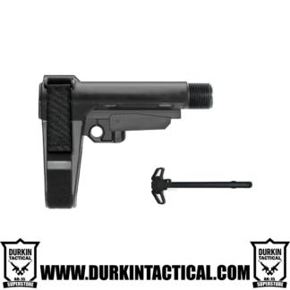 SBA3 Pistol Brace with Charging Handle Combo
