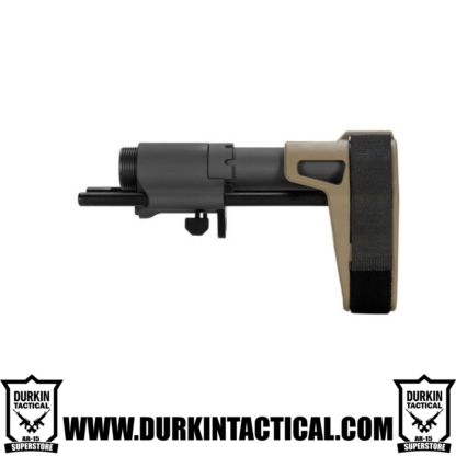 SB Tactical PDW Pistol Stabilizing Brace - FDE