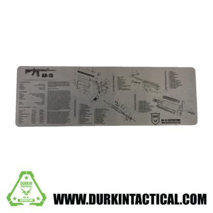 Grey Durkin Tactical AR-15 Build Mat