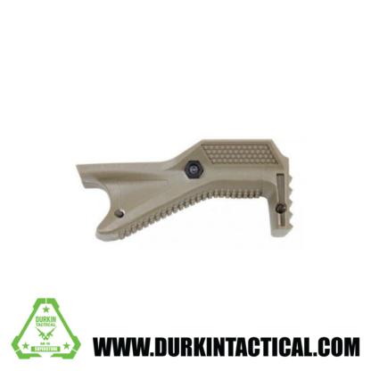 Angle Polymer Grip For Picatinny Rail (FDE)