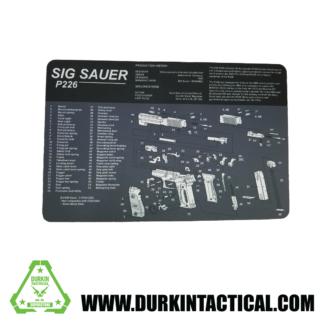 Sig Sauer P226 Pistol Build Mat