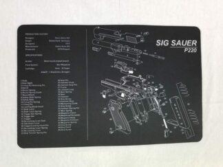 Sig Sauer P220 Pistol Build Mat