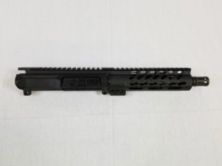 "7.5"" 6061 Billet Upper 300 AAC Blackout, 1:8 Twist w/ 7"" Free Float Keymod Handguard"
