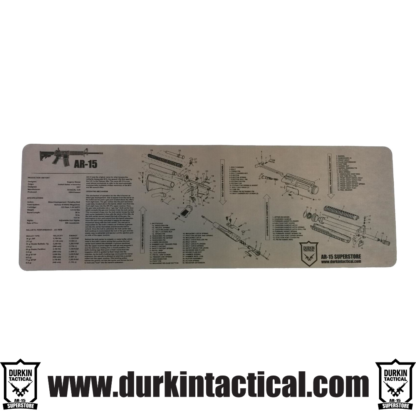 Grey Durkin Tactical AR-15 Build Mat