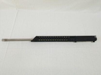 """AR-15 Complete Upper Assembly, 24"""" 223 Wylde 416R SS 1:8 Twist w/ 15"""" Free Float Keymod Handguard"""