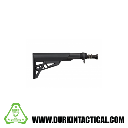 TactLite AR-15 Mil-Spec Stock & Buffer Tube Assembly Package - Black