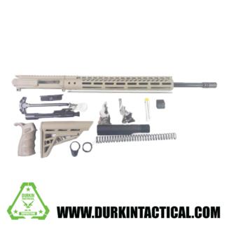 """20"""" AR-15 5.56 Rifle Build Kit - FDE"""
