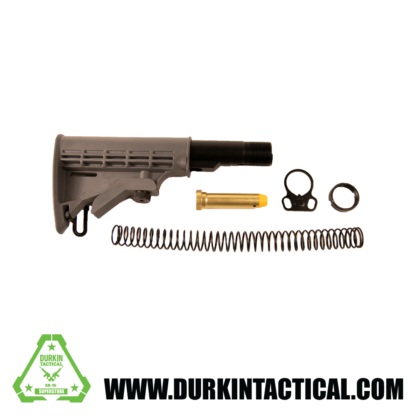 Gray Commercial Stock Kit with Dual Sling End Plate