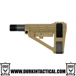 SBA4 Pistol Stabilizing Brace - FDE