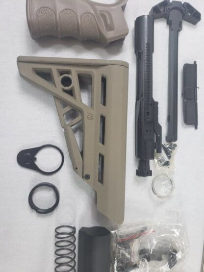 "20"" AR-15 5.56 Rifle Build Kit - FDE (Flat Dark Earth)"
