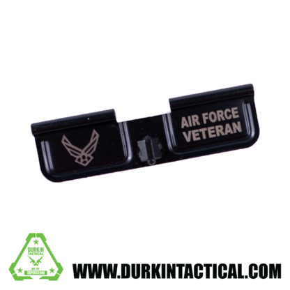 Laser Engraved Ejection Port Dust Cover - Air Force Veteran