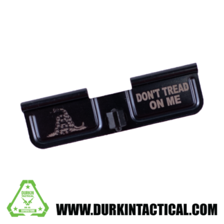 Laser Engraved Ejection Port Dust Cover - Don't Tread On Me