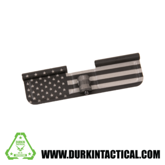 Laser Engraved Ejection Port Dust Cover - USA Flag Straight