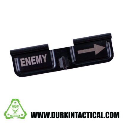 Laser Engraved Ejection Port Dust Cover - Enemy