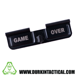 Laser Engraved Ejection Port Dust Cover - Game Over