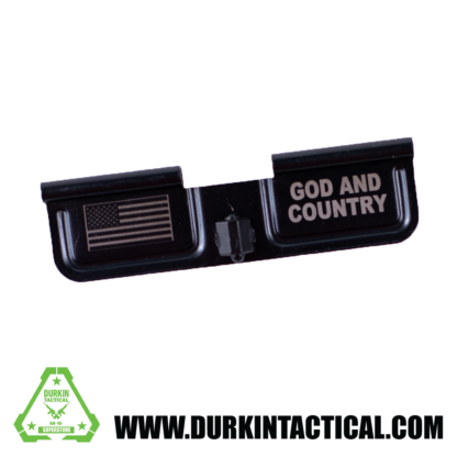 Laser Engraved Ejection Port Dust Cover - God and Country