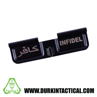 Laser Engraved Ejection Port Dust Cover - Infidel