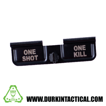 Laser Engraved Ejection Port Dust Cover - One Shot One Kill
