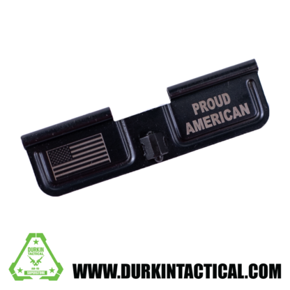 Laser Engraved Ejection Port Dust Cover - Proud American