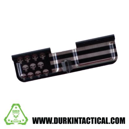 Laser Engraved Ejection Port Dust Cover - Punisher USA Flag