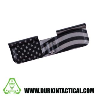 Laser Engraved Ejection Port Dust Cover - USA Flag