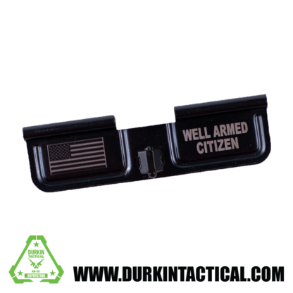 Laser Engraved Ejection Port Dust Cover - Well Armed Citizen
