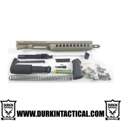 "10.5"" 5.56 Nato AR-15 Durkin Tactical Build Kit - FDE (Flat Dark Earth)"