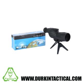 Spotting Scope with Tripod Black HD Waterproof lll Night Version 15-40×50