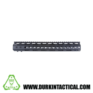 Pro Series – Made in USA – 11 Keymod Handguard Type III Class 2 Anodize w: Advanced Anti-Rotation Feature in Black and NSR Platform Barrel Nut