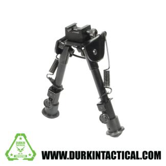Adjustable Bipod 6″- 9″ Folding Picatinny Mount 13-704