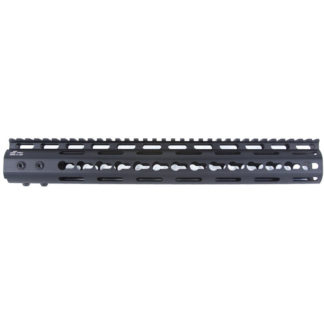 Pro Series - Made in USA - 11 Keymod Handguard Type III Class 2 Anodize w: Advanced Anti-Rotation Feature in Black and NSR Platform Barrel Nut