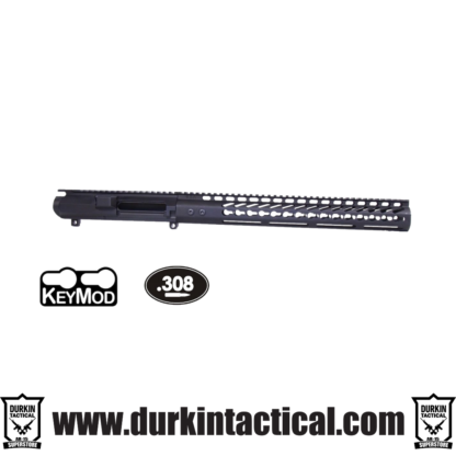 .308 STRIPPED BILLET UPPER RECEIVER & 15″ ULTRALIGHT SERIES KEYMOD HANDGUARD COMBO SET