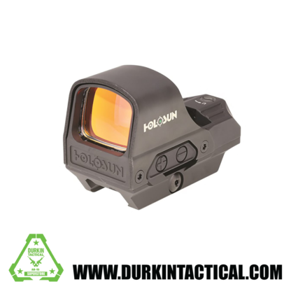 Holosun HE510C-GR Elite Reflex Sight 1x Selectable Green Reticle Picatinny-Style Quick-Release Mount Solar/Battery Powered Matte