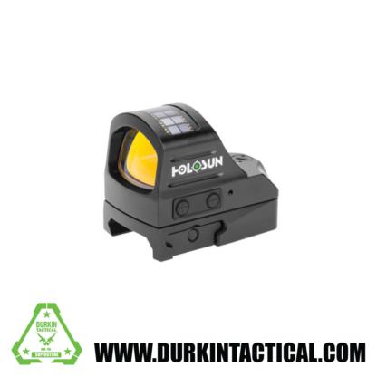 Holosun HE507C Elite Sight, 2 MOA Dot Reticle, Color: Black, Battery Type: CR2032
