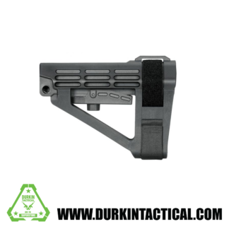 SB Tactical SBA4 Pistol Stabilizing Brace - Black | No Tube |