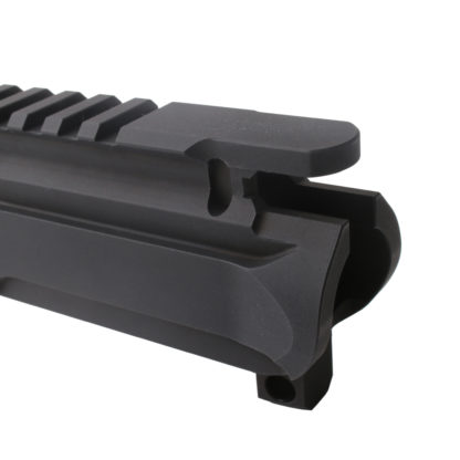 AR-9 ENHANCED 9MM AR-15 BILLET UPPER RECEIVER - BLACK Rear