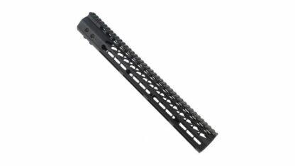 GUNTEC USA .308 Ultra Thin Key Mod Free Floating Handguard w/Monolithic Top Rail