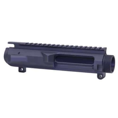 AR .308 CAL STRIPPED BILLET UPPER RECEIVER (GEN 2) (ANODIZED BLACK)