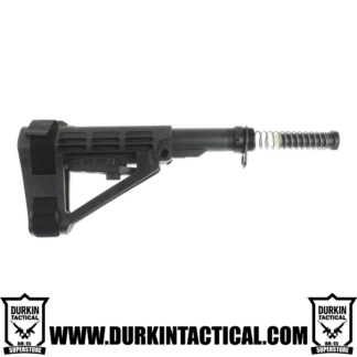 SB Tactical SBA4 Adjustable Pistol Brace + Mil-Spec Buffer Tube Kit